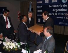 Argentina-India Business Seminar  for the Interior of Argentina