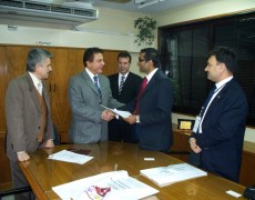 Signing of MoU between Universidad Abierta Interamericana and  Surana