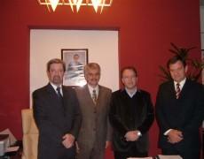 Reunión con el Ministro de Industria y Comercio del Gobierno de la Provincia de Córdoba