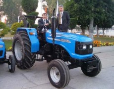 Visit to Sonalika Tractor Company in the city of Hoshiapur