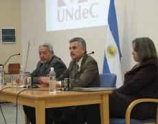 Disertación del Consul General Hon. de India en la  Universidad Nacional de Chilecito (UNdeC)