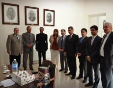 (Español) El Embajador de India y el Cónsul General en Argentina se reunieron con los Ministros del superior Tribunal de Justicia de la Provincia de San Luis.