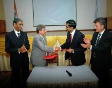 Casa de San Luis en la India: se afianzan las relaciones entre ambos gobiernos