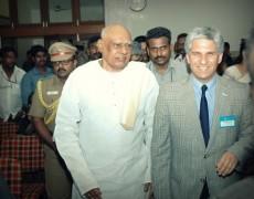 El gobernador de la provincia presentó las ventajas de San Luis en Chennai